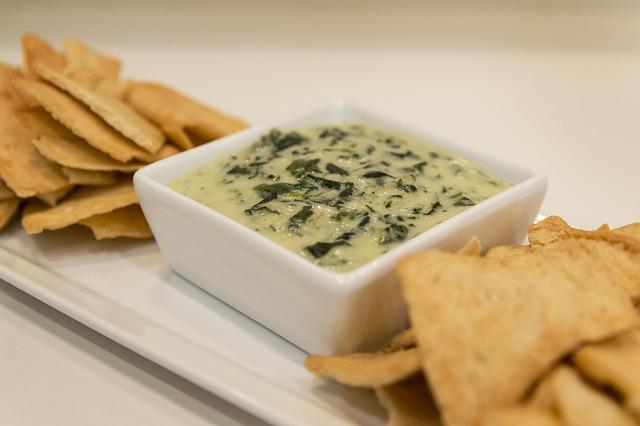 Food, Spinach, Artichoke, Spinach And Artichoke Dip