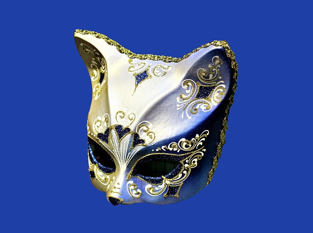 Mask, Cat, Carnival, Venice, Artifact, Artwork, Art