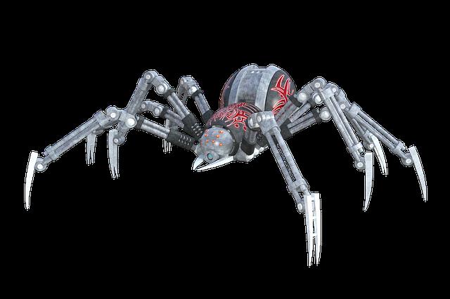 Spider, Arachnid, Animal, Robot, Artificial