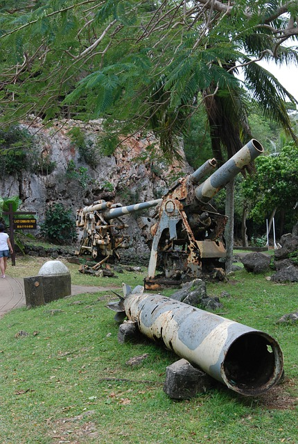 Cannon, Artillery, Rusted, Old, Military, Weapon