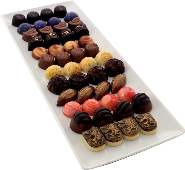 Artisan, Chocolates, Truffles, Praline, Cocoa, Brown
