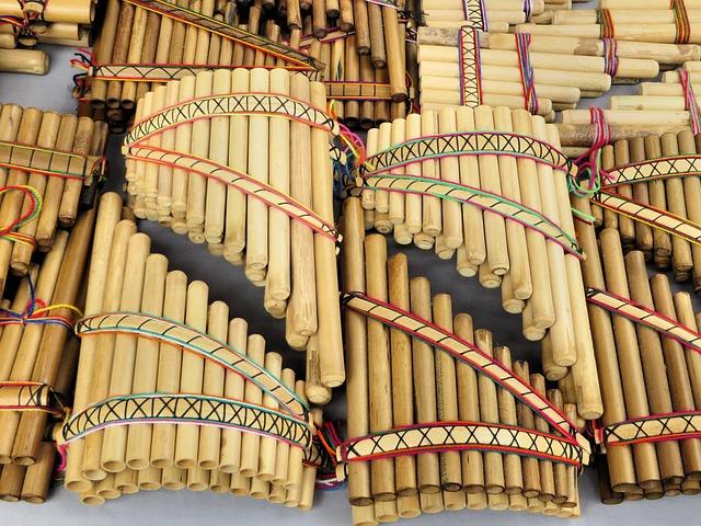Pan Flutes, Artisan, Otavalo