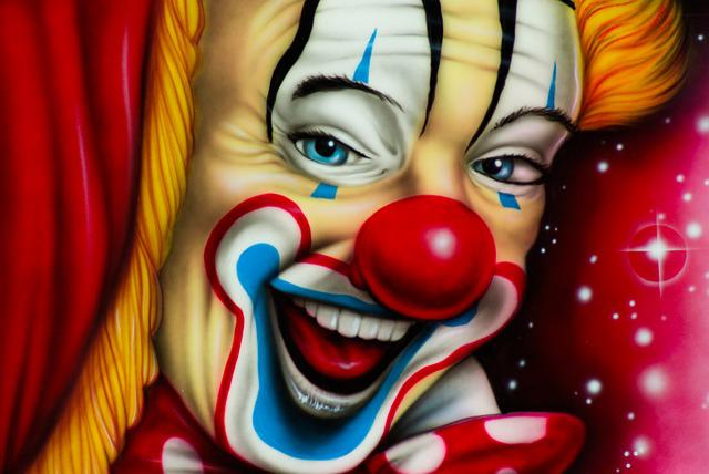 Clown, Circus, Painting, Art, Disguise, Show, Artist