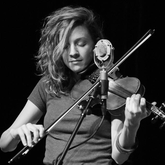 Singer, Violin, Music, Micro, Artist, Concert, Singing