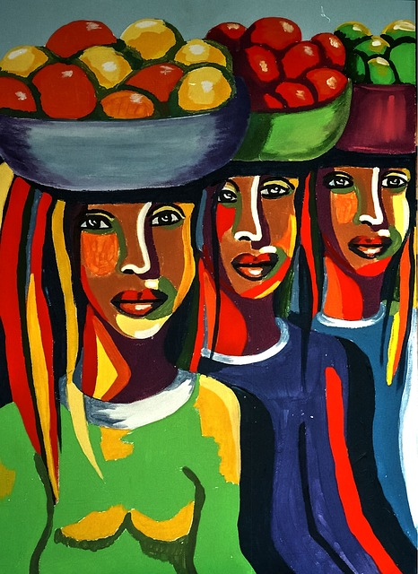 African Art, Bright, Creative, Artistic