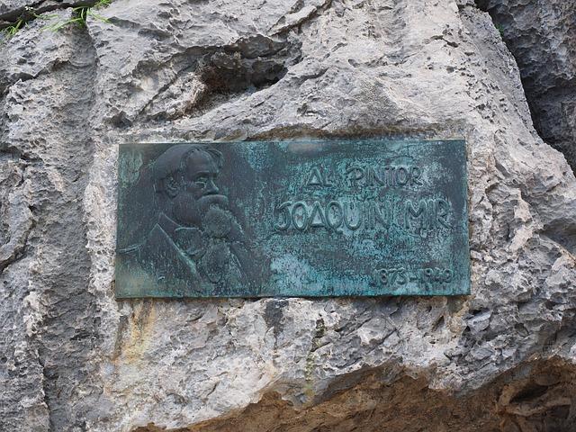 Memorial Plaque, Joaquim Mir, Artists, Painter, Catalan