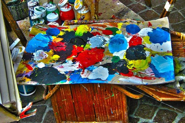 Color, Cans, Glasses, Range, Artists, Art, Painter