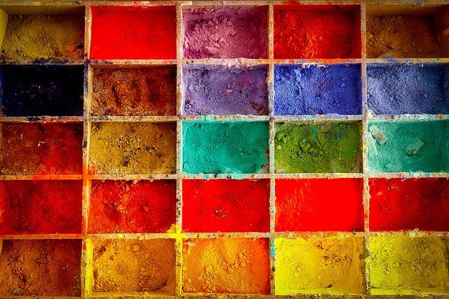 Paint, Farbpulver, Artist Color, Tempera Paint, Artists