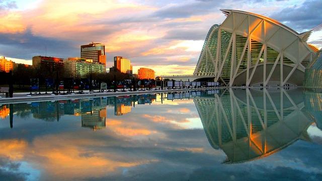 City, Arts, Science, Valencia, Spain, Valence
