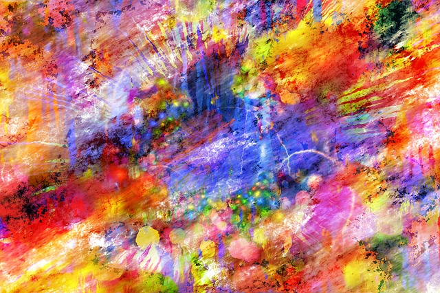 Colorful, Abstract, Artwork, Art, Painting