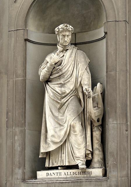 Dante Allighieri, Florence, Artwork