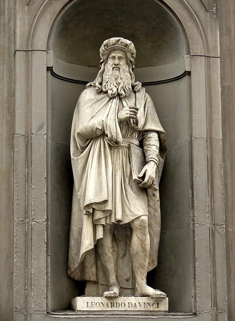 Leonardo Da Vinci, Florence, Artwork