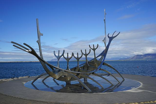 Reykjavik, Sculpture, Art, Promenade, Iceland, Artwork