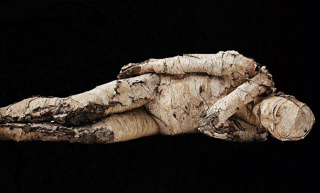 Man, Tree Man, Wood, Bierke, Artwork, Art, Concerns
