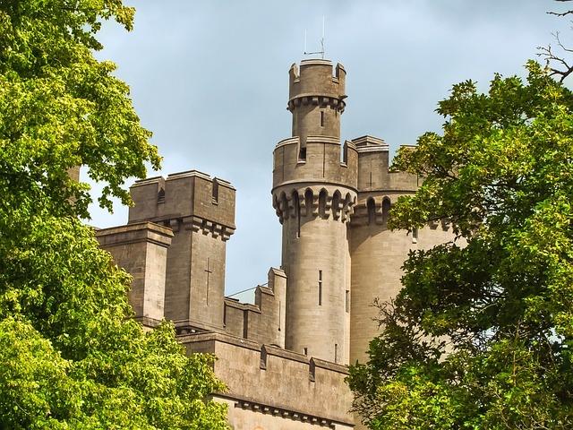 Arundel Castle, Monument, England