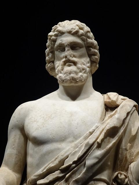 Sculpture, Statue, Art, Old, Asclepius, Ampurias