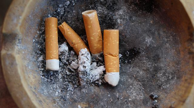 Cigarettes, Ash, Waste, Garbage