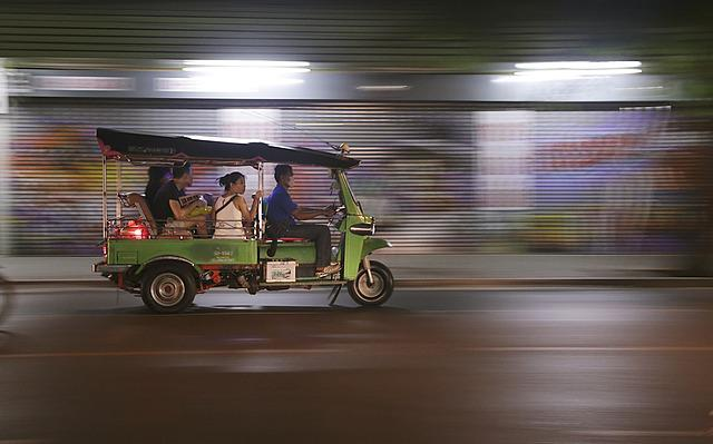 Tut Tuk, Thailand, Transportation, Asian, Asia, Travel