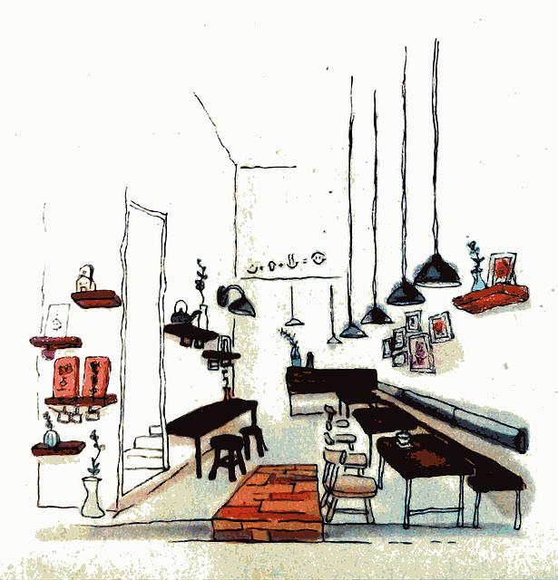 Restaurant, Asia, Taiwan, Bar, Furniture