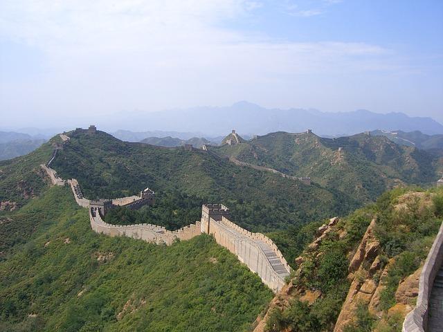 Great Wall Of China, China, Wall, Beijing, Asia