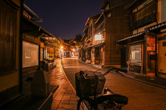 Street, Japan, City, Travel, Night, Building, Asia