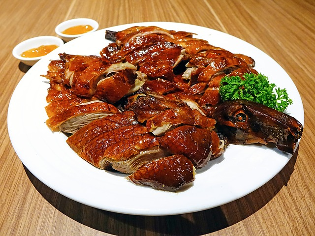 Roasted Duck, 烧鸭, Chinese, Asia, Cuisine, Oriental