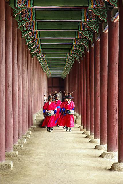 Gyeongbok Palace, Traditional, Landscape, Asia