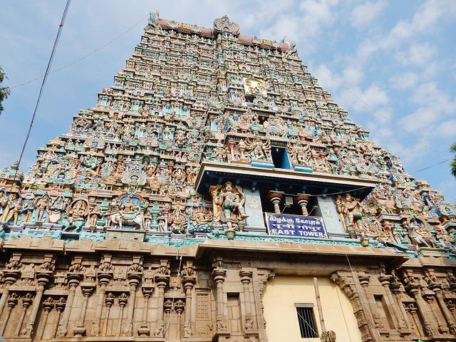 India, Temple, Religion, Asia
