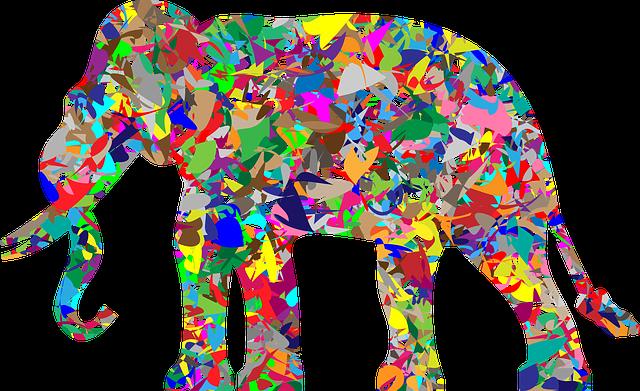 Elephant, Pachyderm, Animal, Africa, Asia, Mammal