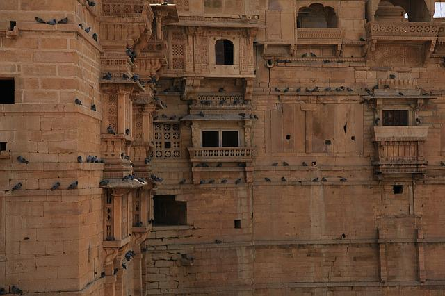 Fort, India, Rajasthan, Architecture, Asia, Ancient