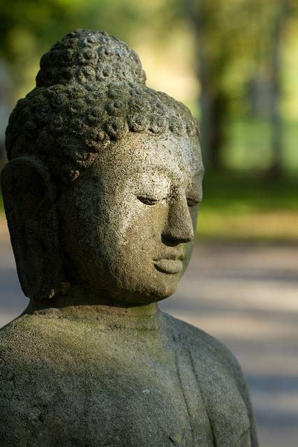 Buddha, Stone Figure, Religion, Buddhism, Statue, Asia