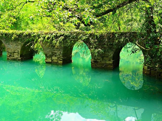 Asia, China, Libo, Xiao Qi Kong, Bridge, River