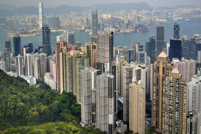 Hong Kong, China, Asia, Tsim Sha Tsui, Hong Kong Island