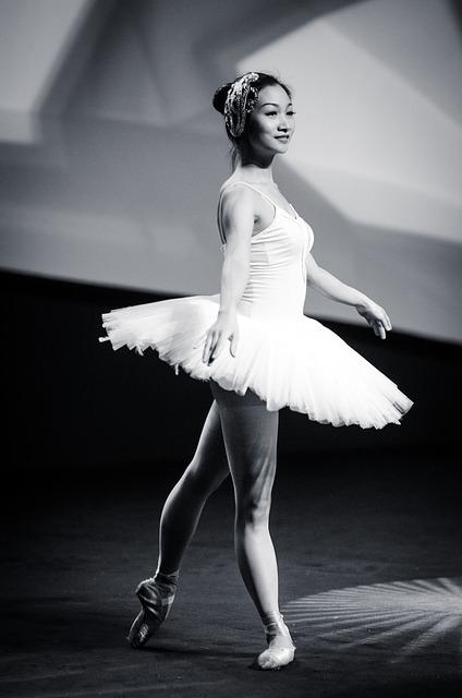 Ballet, Dance, Dancer, Ballerina, Art, Sports, Asian