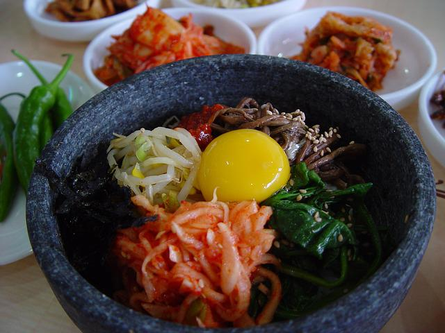 Food, Bibimbap, Side Dish, Asian