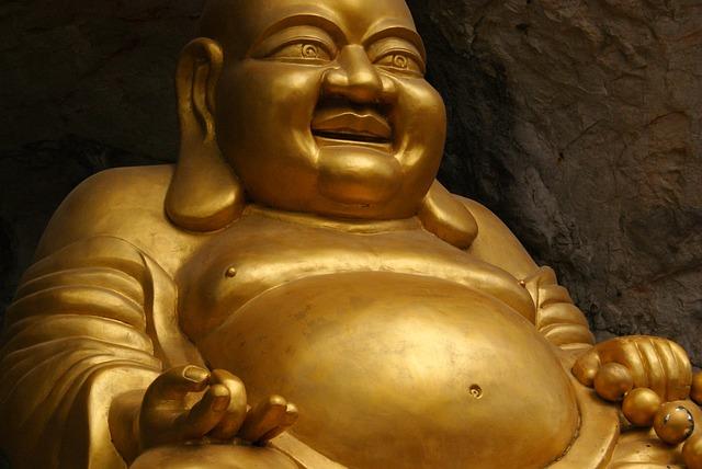 Buddha, Buddhism, Golden, Statue, Gold, Asian, Religion
