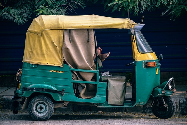Asia, Rickshaw, Asian, Bangkok, Car, Delhi, India, Taxi