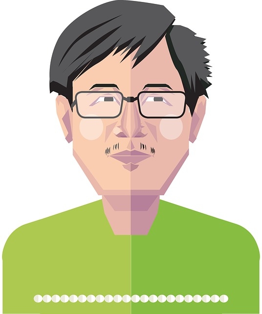 Guy With Glasses, Chinese, Young Man, Asian, Guy, Male