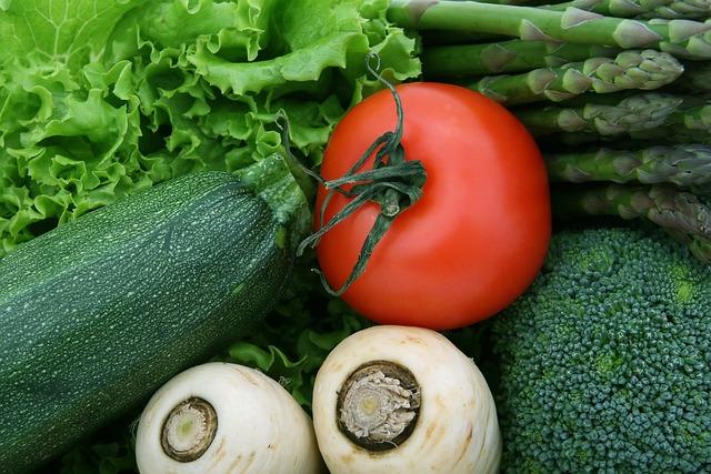Asparagus, Broccoli, Cherry, Food, Fresh, Green