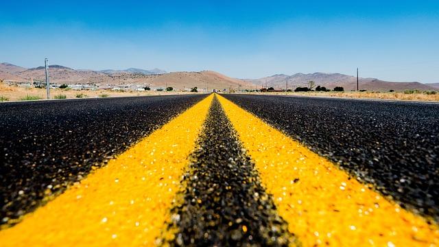 Nevada, Road, Route 66, Las Vegas, Highway, Asphalt