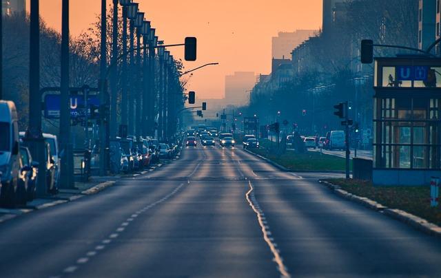 City, Road, Vehicles, Cityscape, Asphalt, Berlin
