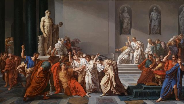 Julius Caesar, Assassination, Painting, Rome, Roman