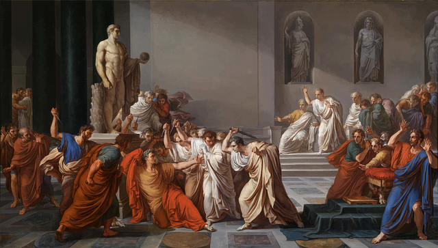 Julius Caesar, Assassination, Painting, Rome, Roman