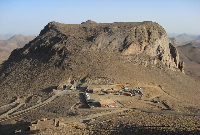 Algeria, Hoggar, Assekrem, Volcano, Erosion