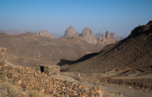 Algeria, Hoggar, Assekrem, Erosion, Volcanism, Desert