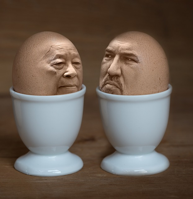 Iman, Egg, Egg Cups, Easter, Assembly, Photoshop, Faces