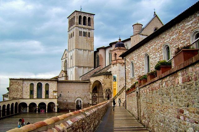 Assisi, St Francis, Basilica Of St Francis, Perugia