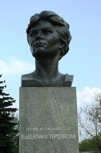 First Woman In Space, Statue, Astronaut, Monument