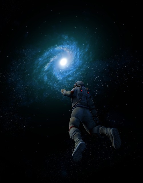 Galaxy, Astronaut, Space, Star, Space Suit, Human
