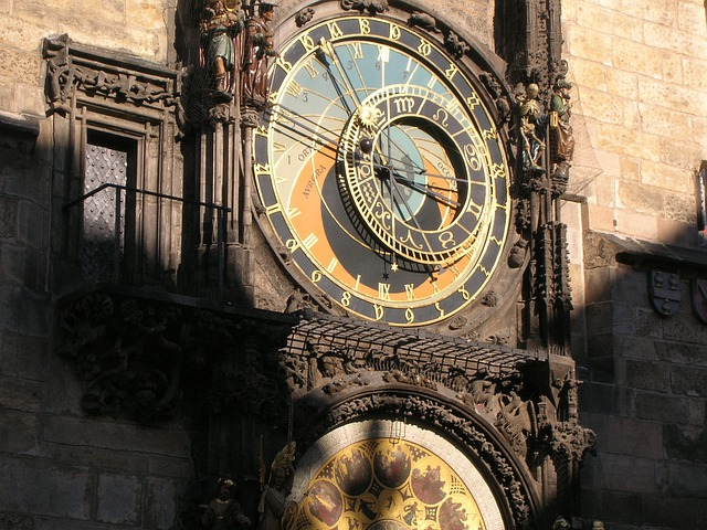 Prague, Astronomical Clock, Famous, Antique, Clock, Old